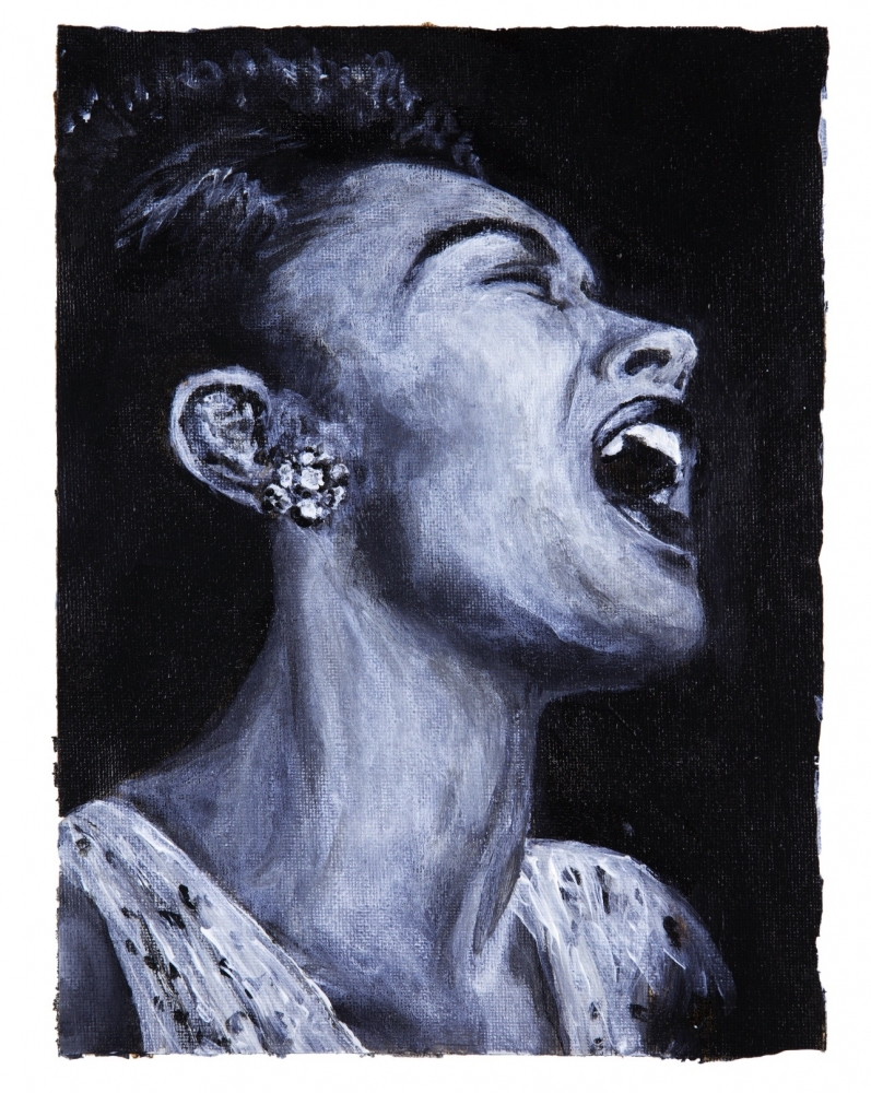 Billie Holiday par yukiC